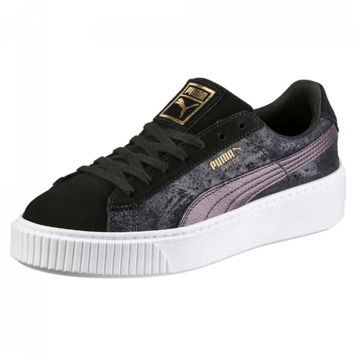 Puma Shoes Suede Platform Safari Woman