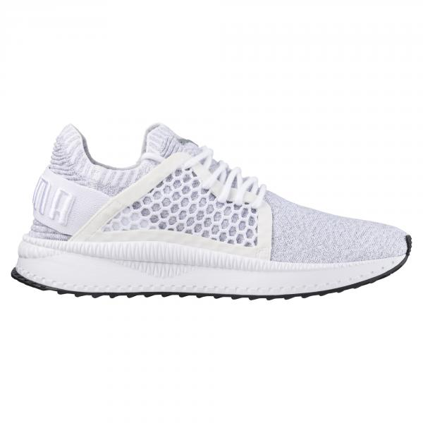 Puma Shoes Puma Tsugi Netfit Evoknit  Unisex PUMA WHITE-QUARRY-PUMA BLACK Tifoshop
