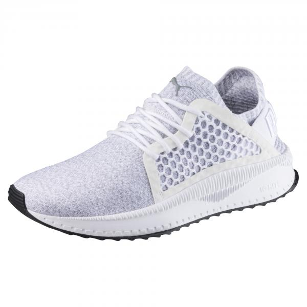Puma Shoes Puma Tsugi Netfit Evoknit  Unisex PUMA WHITE-QUARRY-PUMA BLACK
