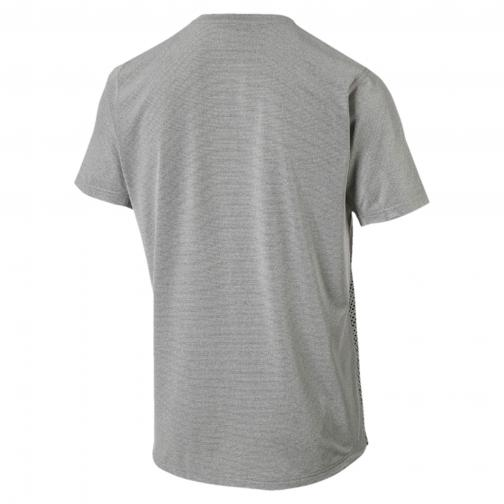 Puma T-shirt Graphic S/s Tee MEDIUM GRAY HEATHER Tifoshop