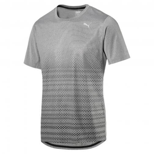 Puma T-shirt Graphic S/s Tee MEDIUM GRAY HEATHER