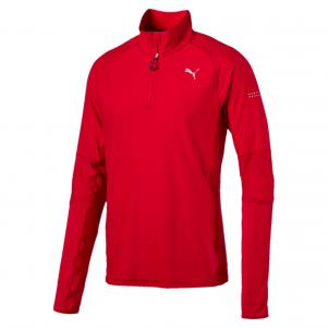 Run 1/2 Zip Top