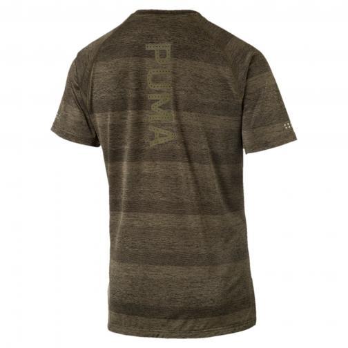 Puma T-shirt Energy S/s Tee OLIVE NIGHT HEATHER Tifoshop