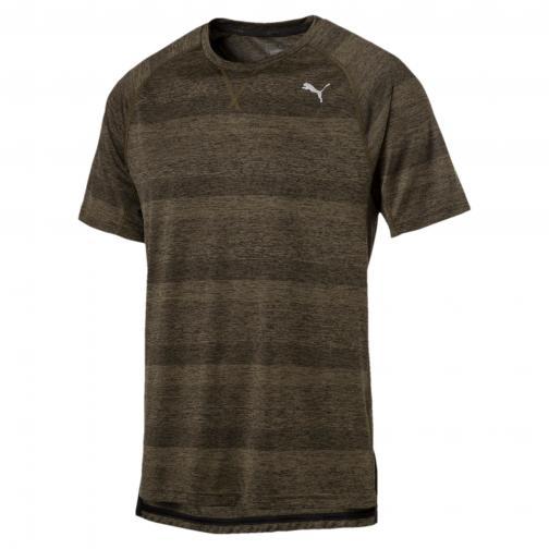 Puma T-shirt Energy S/s Tee OLIVE NIGHT HEATHER