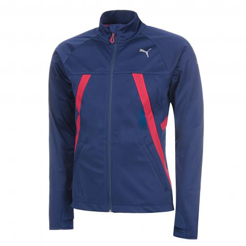 Puma Jacket Vent Thermo_r Runner Jkt BLUE DEPTHS