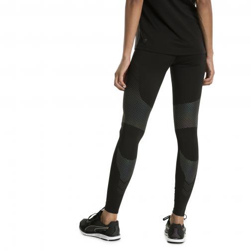 Puma Pant Women Pwrrun Nc Long Tight  Woman PUMA BLACK Tifoshop