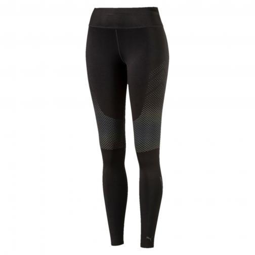 Puma Pant Women Pwrrun Nc Long Tight  Woman PUMA BLACK