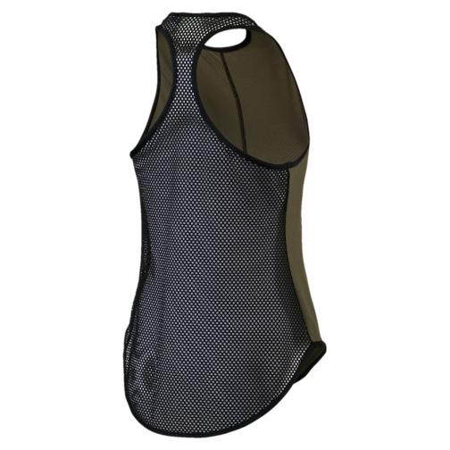 Puma Tank Top Explosive Mesh Tank  Woman OLIVE NIGHT Tifoshop