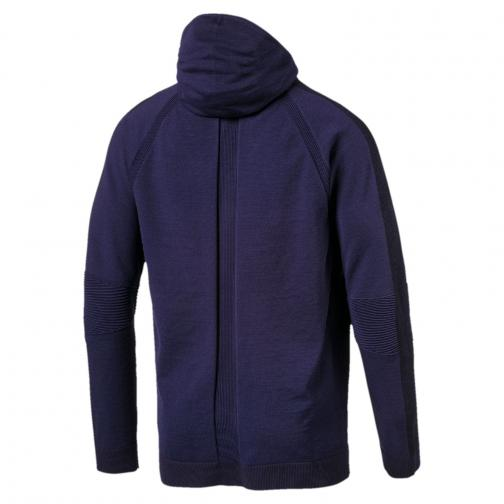 Puma Sweat Evoknit Move Fz Hoody PEACOAT Tifoshop