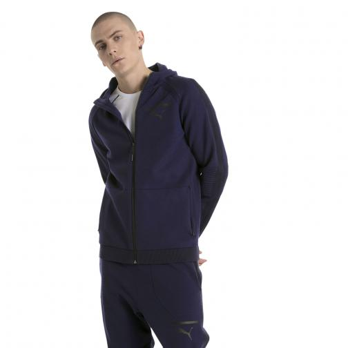 Puma Sweat Evoknit Move Fz Hoody PEACOAT
