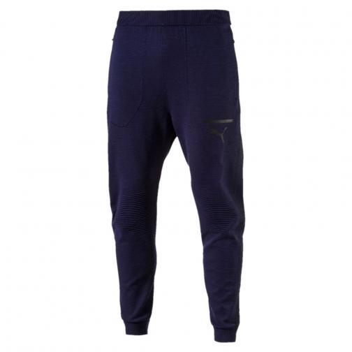 Puma Pantalone Evoknit Move Pants Blu Tifoshop