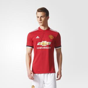 Adidas Shirt Home Manchester United   17/18