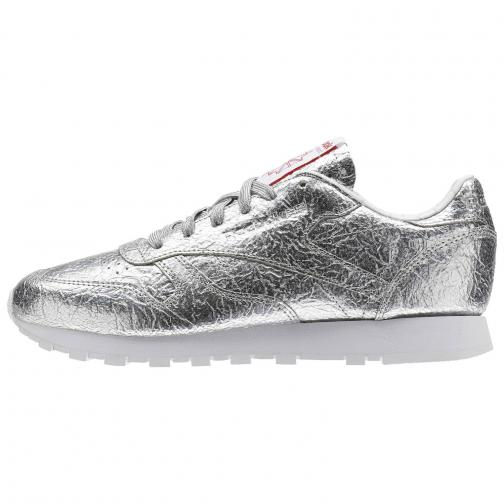 Reebok Scarpe Classic Leather Hd  Donna Silver Tifoshop