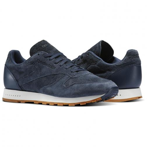 Reebok Schuhe Cl Leather Sg Blue