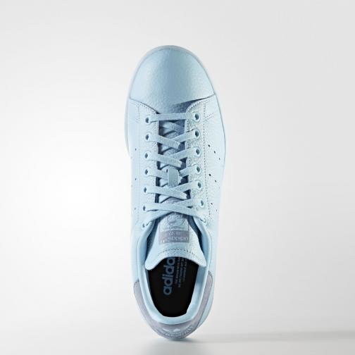 Adidas Originals Shoes Stan Smith  Unisex ICEY BLUE F17/ICEY BLUE F17/TACTILE BLUE S17 Tifoshop