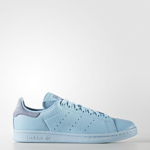 Adidas Originals Shoes Stan Smith  Unisex ICEY BLUE F17/ICEY BLUE F17/TACTILE BLUE S17