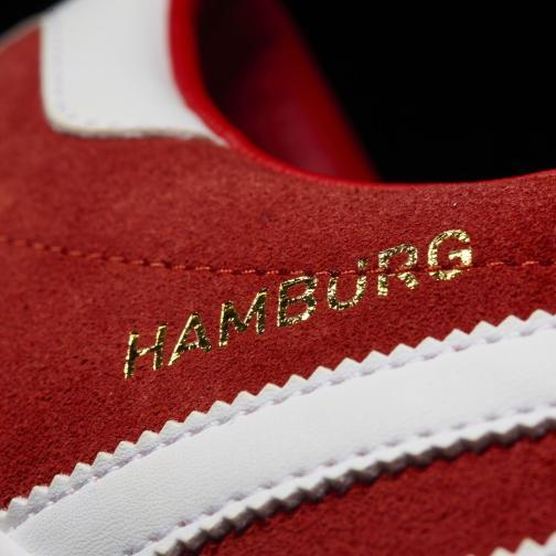 Adidas Originals Scarpe Hamburg ROSSO Tifoshop