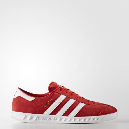 Adidas Originals Scarpe Hamburg ROSSO