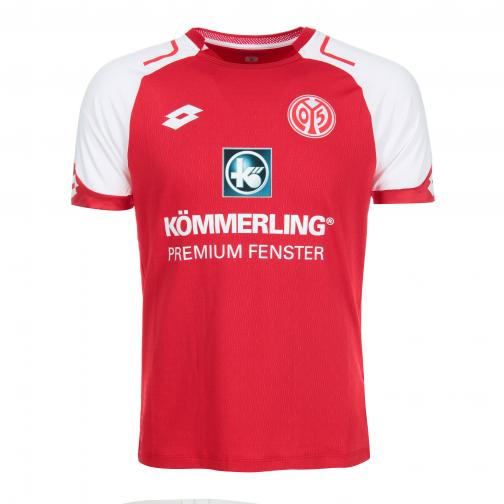 Lotto Jersey Home Mainz   17/18 FLAME/WHITE