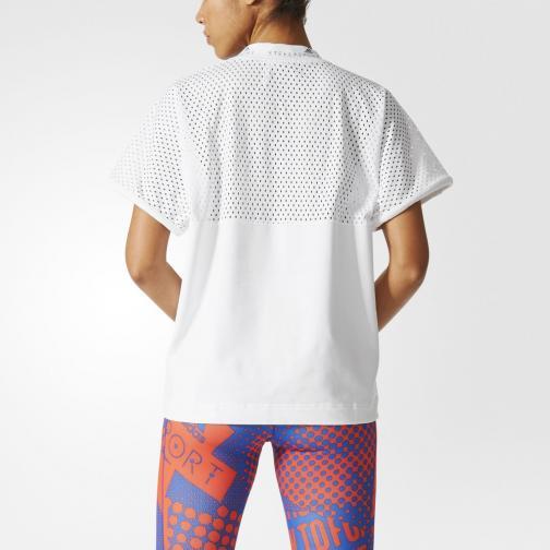 Adidas Stella Sport T-shirt Tee  Donna BIANCO Tifoshop