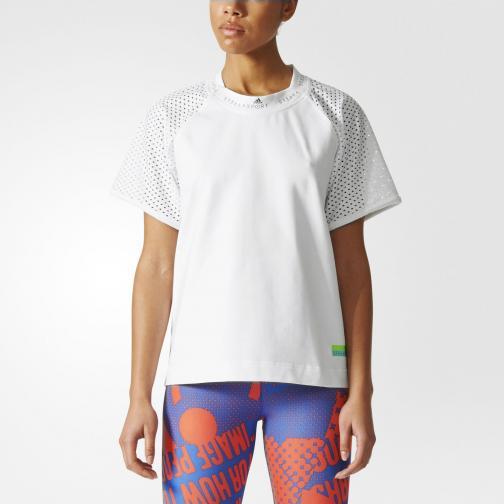 Adidas Stella Sport T-shirt Tee  Donna BIANCO