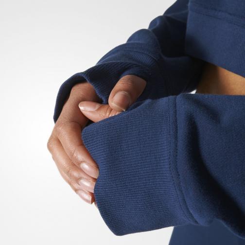Adidas Stella Sport Sweatshirt Icon Hoody  Damenmode Night indigo Tifoshop