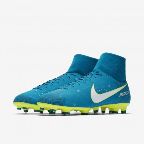 92f3ddff8 ... Nike Football Shoes Mercurial Victory Vi Df Njr Fg Neymar Jr BLUE ORBIT/ WHITE- ...