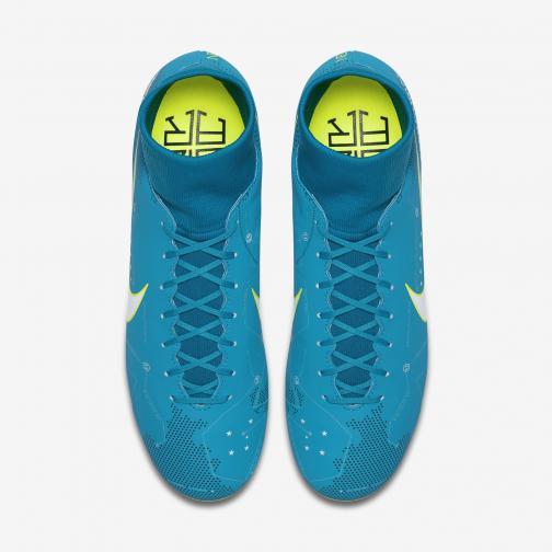 Nike Fußball-schuhe Mercurial Victory Vi Df Njr Fg   Neymar Jr BLUE ORBIT/WHITE-BLUE ORBIT-ARMORY NAVY-VOLT-VOLT Tifoshop