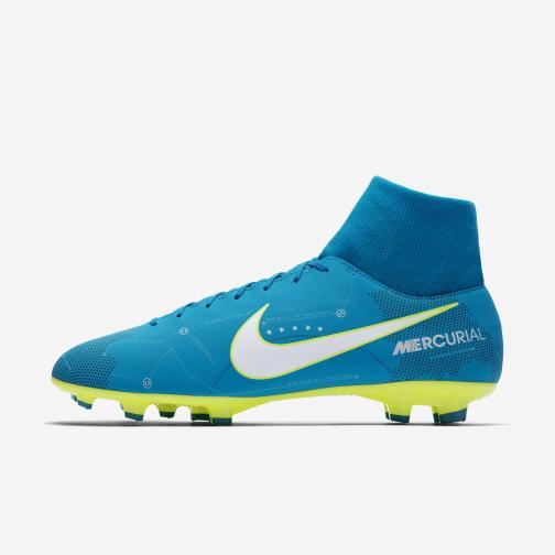 Nike Fußball-schuhe Mercurial Victory Vi Df Njr Fg   Neymar Jr BLUE ORBIT/WHITE-BLUE ORBIT-ARMORY NAVY-VOLT-VOLT