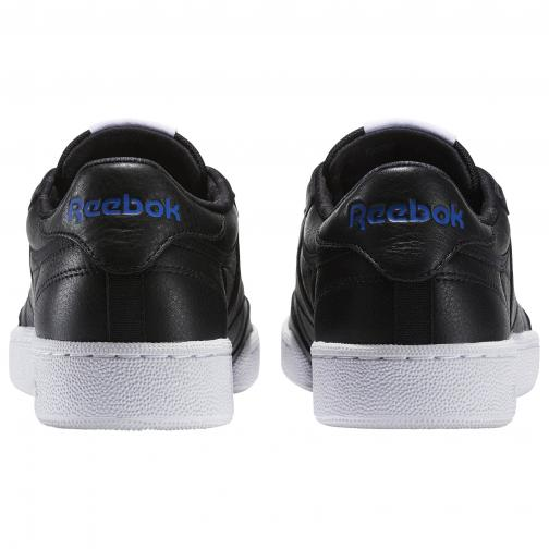 Reebok Schuhe Club C85 So BLACK/WHITE/ VITAL BLUE/PRIMAL RED/ASH GREY Tifoshop
