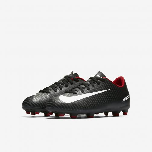 Nike Scarpe Calcio Mercurial Vortex Iii Fg  Junior Bianco/Nero Tifoshop