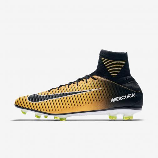 Nike Fußball-schuhe Mercurial Veloce Iii Fg LASER ORANGE/BLACK-WHITE-VOLT
