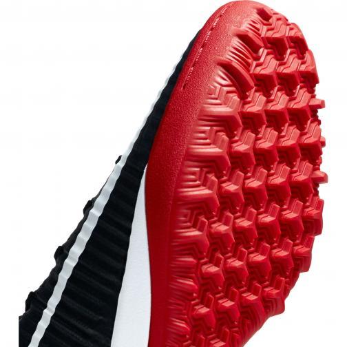 Nike Futsal-schuhe Mercurialx Proximo Ii Tf BLACK/WHITE-UNIVERSITY RED-DARK GREY Tifoshop