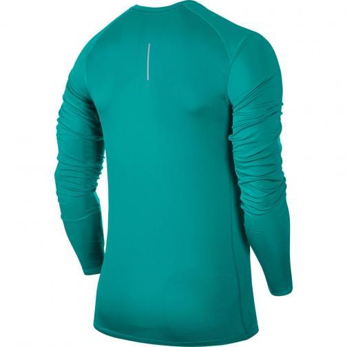 Nike Trikot Miler Long Sleeve TURBO GREEN/HTR Tifoshop