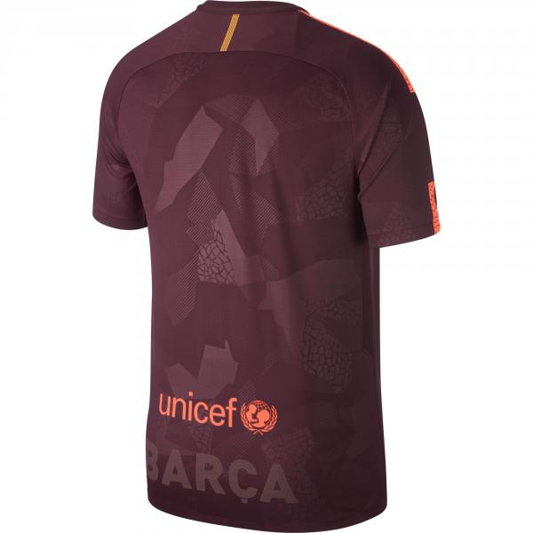 Nike Shirt Drittel Barcelona   17/18 NIGHT MAROON/HYPER CRIMSON Tifoshop