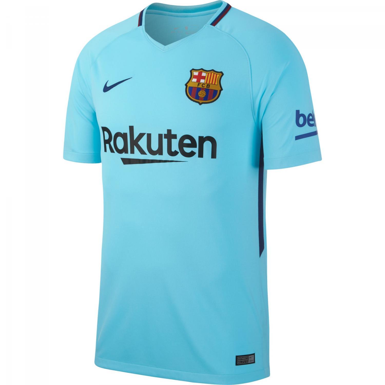 Nike Shirt Away Barcelona   17/18