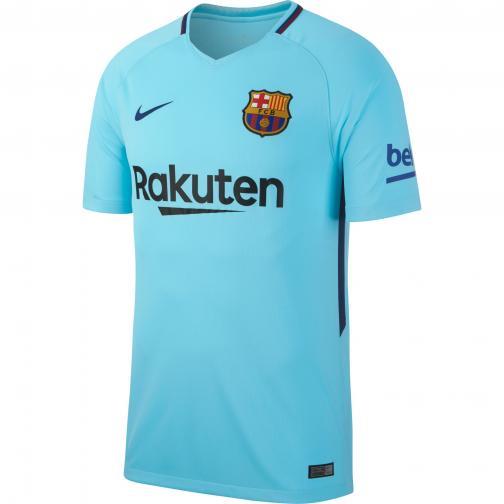 Nike Shirt Away Barcelona   17/18 POLARIZED BLUE/DEEP ROYAL BLUE