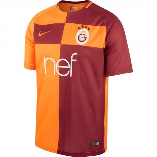 Nike Shirt Home Galatasaray   17/18 VIVID ORANGE/PEPPER RED/VIVID ORANGE