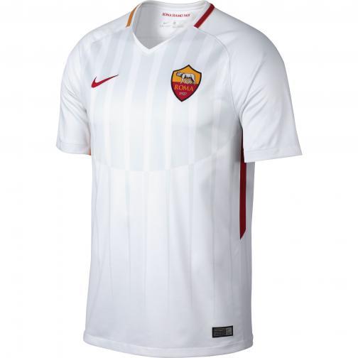 Nike Maglia Gara Away Roma   17/18 Bianco