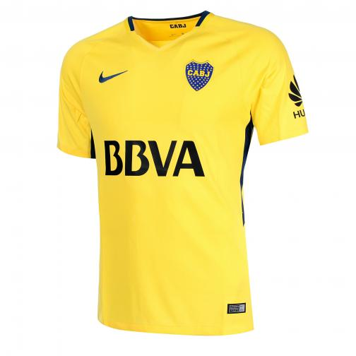 Nike Maglia Gara Away Boca Jr   17/18 Giallo/Blu