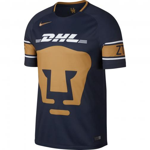 Nike Shirt Home & Away Pumas   17/18 OBSIDIAN/WHITE/TRULY GOLD