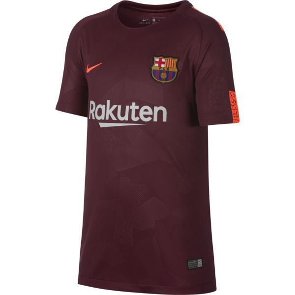 Nike Maglia Gara Terza Barcellona Junior  17/18 Bordeaux