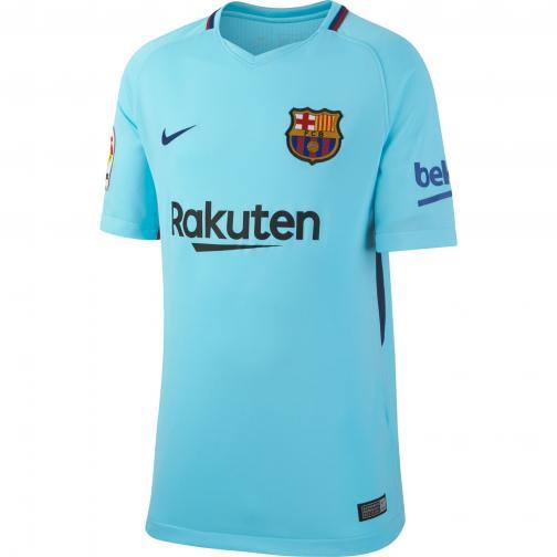 Nike Maglia Gara Away Barcellona Junior  17/18 Azzurro