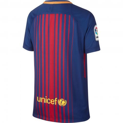Nike Maglia Gara Home Barcellona Junior  17/18 Blaugrana Tifoshop