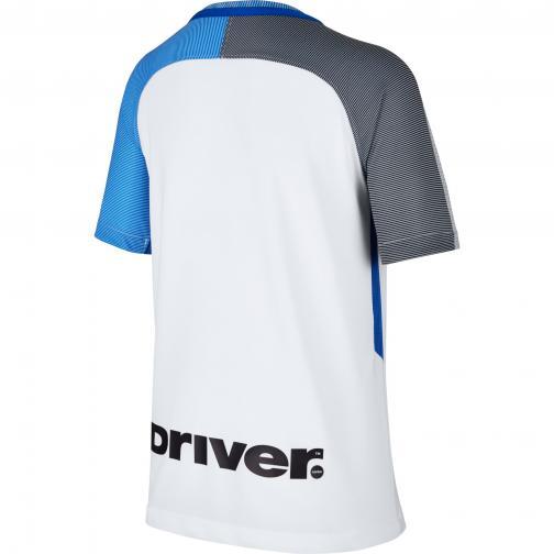 Nike Maglia Gara Away Inter Junior  17/18 Bianco/nero/blu Tifoshop