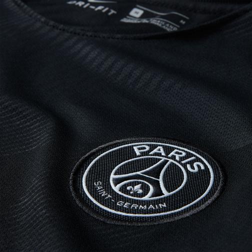 Nike Maglia Gara Terza Paris Saint Germain Junior  17/18 Nero/Platino Tifoshop