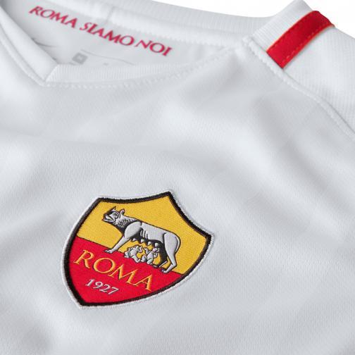 Nike Maglia Gara Away Roma Junior  17/18 Bianco Tifoshop