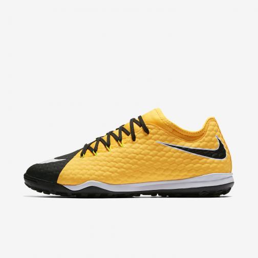 Nike Scarpe Calcetto Hypervenomx Finale Ii Tf Arancione/Bianco/nero