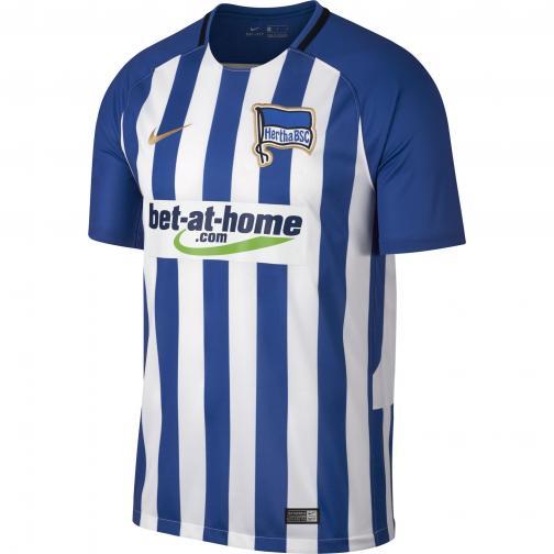 Nike Maglia Gara Home Hertha Berlino   17/18 Blu royal/Bianco/Oro