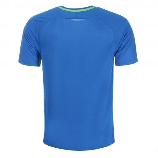 Nike Maglia Gara Away Wolfsburg   17/18 Blu/Verde Tifoshop